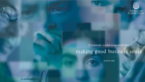 making good business sense